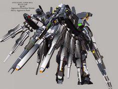 Fanart: RX-93-2AP hi-nu Gundam Aggressive Procedure Module version 1 - Gundam Kits Collection News and Reviews