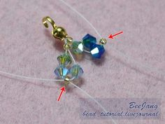 This is one of the most requested tutorial I received apart from Donut Thai style. lol Tutorial : Flower Spiral #1 Level : Intermediate to Advance Technique : Cross-weaving Equipment - Crystal Bicone 4mm. 4 colors (Color - Seed bead 11/o - Nylon thread no. 30 - Clasp. - Jumprings (optional if you…