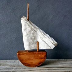 Servilletero barco