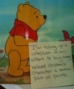 Poor Pooh, lmao!