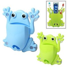 Frog Toothbrush Holder with 4 Suction Cups (Green), http://www.amazon.co.uk/dp/B00ATO136C/ref=cm_sw_r_pi_awdl_EH2ltb0GCPKA2