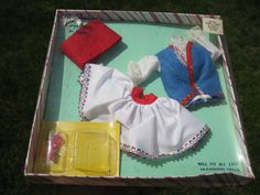 VINTAGE TEEN AGE CREATIONS BY ARDEE GREECE OUTFIT FIT BARBIE & MIDGE TAMMY
