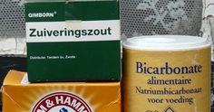 C: baking soda, zuiveringszout etc. Diy Cleaning Products, Housekeeping, Good To Know, Baking Soda, Household, Health Fitness, Herbs, Homemade, Pure Products