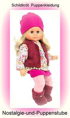 Schildkröt Puppenkleidung für 37 cm Schlummerle, Cordrock... nur 40.90 EUR