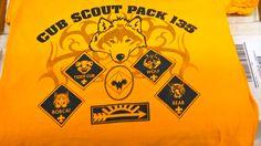 Cub Scout Pack 135 - t-shirt - design - screen print - Kearney, NE - Shirt Shack Wolf Scouts, Cub Scouts, Tiger Cub, Cubs, T Shirt, Bear, Design, Supreme T Shirt, Tee Shirt