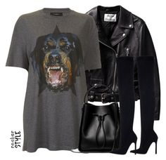 """Untitled #4309"" by maddie1128 ❤ liked on Polyvore featuring Givenchy, 3.1 Phillip Lim, Zara, rockerchic and rockerstyle"