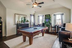 Gehan Homes Game Room Dallas, Texas | The Estates at Grady Niblo - Stanford www.gehanhomes.com/gallery/gameroom-gallery/ #Gehanhomes