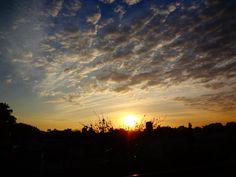 Amanecer de día frío! Desde el balcón - La Plata - BsAs - Arg
