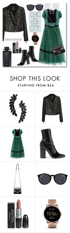 """""""Get the look"""" by vkmd on Polyvore featuring Cristabelle, Paige Denim, Burberry, Valentino, Fendi, Yves Saint Laurent, FOSSIL, Gucci and gethtelook"""