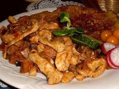 RAMPUŠÁK (JÁTRA) No Salt Recipes, Meat Recipes, Cooking Recipes, Czech Recipes, Ethnic Recipes, Kung Pao Chicken, Toast, Pork, Asia