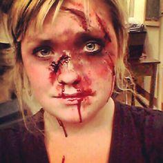 Car Accident Makeup