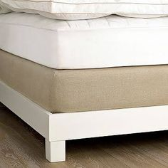linen box spring cover - Google Search