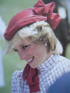 June 14, 1983: Princess Diana on a walkabout on her arrival at Garrison Grounds, Halifax, Nova Scotia, Canada. (Day 1).
