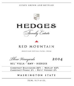 2004 Hedges Family Estate Red Mountain Red Blend 750 mL Wine >>> You can find more details by visiting the image link.