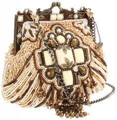 Mary Frances French Kiss Shoulder Bag
