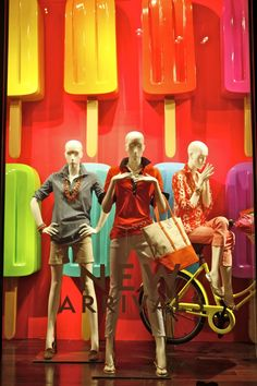 VM | Window Visual Merchandising | VM | Window Display | WindowsWear | C. Wonder, New York, August 2012