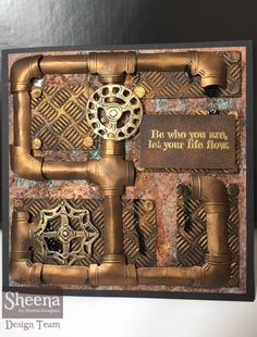 Get with the new Time Traveller collection from Sheena Douglass, available from Steampunk Cards, Journal Ideas, Junk Journal, Sheena Douglass, Crafters Companion, Tim Holtz, Art World, Mixed Media, Decorative Boxes