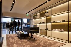 Dsquared2 store by Storage Associati Amsterdam  Netherlands