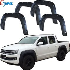 ==> [Free Shipping] Buy Best Fender Flares For Vw Accessories Black Mudguard For Volkswagen Amarok 2009 2010 2011 2012 2013 2014 Flare Decoration Part For VW Online with LOWEST Price   32583330855