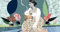 Parmi les oeuvres les plus connues de Virginia Woolf, «Les Vagues», «Orlando», «Une Chambre à soi» (Chloé Caillou)
