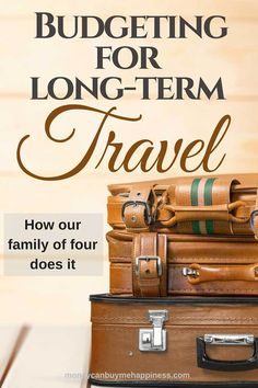 Travelling long-term can be cheaper than living your regular life at home. This post will help with budgeting for long-term travel so you can stretch your dollar further.