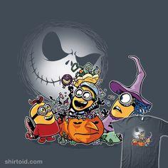 """Despicable Three"" by Tom Kurzanski.  I chose the Deep Purple shirt for this one at TeeFury."