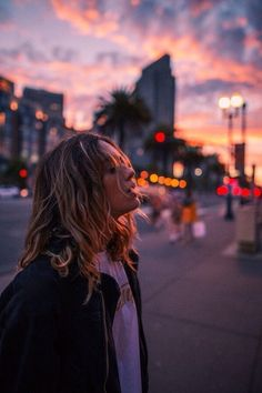 Girl, Sunset, Light by Michy9073.