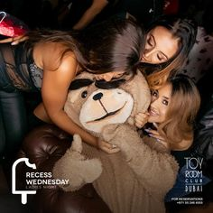 Ladies, we know that #RecessWednesdays are all about you, but go easy on #FrankTheBear.  Reserve on +971 55 246 4555  #LadiesNight #Recess #ToyRoomDubai #RnB #Trap #UrbanMusic #Dubai #MyDubai #DubaiNight #DubaiNightlife #DubaiLife #LadiesNightByDubaiNight #EmiratesCabinCrew #LadiesNightDubai #fashion #style #stylish #love #me #cute #photooftheday #nails #hair #beauty #beautiful #design #model #dress #shoes #heels #styles #outfit #purse #jewelry #shopping #glam #cheerfriends #bestfriends…