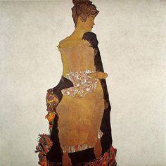 Portrait of Gerti Schiele (1909)
