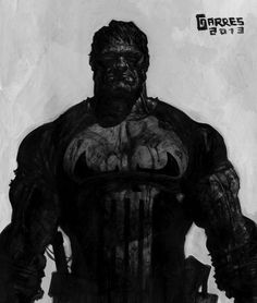The Punisher by Rafa Garres | XombieDIRGE                                                                                                                                                      More