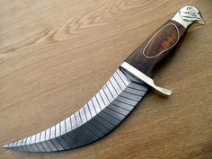 Damascus Steel hand made dagger  LIBERTY by DCIllusion on Etsy, 475.00
