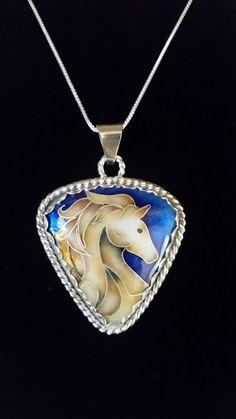 Cloisonne enamel on fine silver. sherylhaupt@verizon.net Enamel Jewelry, Copper Jewelry, Animal Magnetism, Copper Glass, Enamels, Canes, Jewelry Making, Pendant Necklace, Jewels