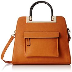 MG Collection Krista Structured Handle Tote Shoulder Bag, Brown, One Size MG Collection http://www.amazon.com/dp/B00WBIGNGY/ref=cm_sw_r_pi_dp_HfDwwb0ZEWSJC