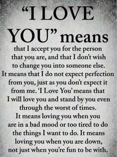 """Cute Love Quotes for Her that puts voice to your deepest feelings This is what """"I Love You"""" means to me Cute Love Quotes, Soulmate Love Quotes, Love Quotes For Her, Romantic Love Quotes, Love Yourself Quotes, Love Poems, Quotes For Him, Beautiful Quotes About Love, Inspirational Quotes For Husband"""