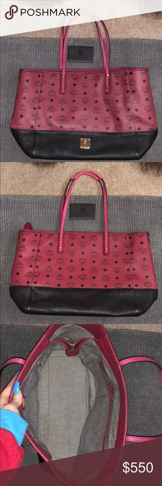 3piece MCM Bag Set Great condition  Barely Used  Large Bag Smaller bag & a wallet  100% Auth. MCM Bags Shoulder Bags