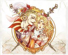 Kefka & Terra - Final Fantasy 6