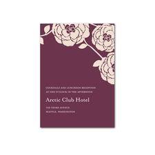 Radiant Ranunculus Reception Cards