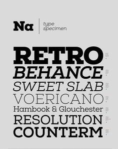 Nexa Slab, nuovo font gratuito di Font Fabric