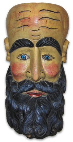 Old Man Mexican Hermit mask