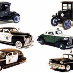 Old police cars