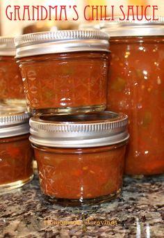 Canning: Chili Sauce, Tomato Jam & Tomatoes