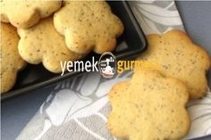 Haşhaşlı Kurabiye Tarifi - http://www.yemekgurmesi.net/hashasli-kurabiye-tarifi.html