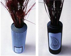 Love 2 Upcycle: Rinnovato Entry....Shampoo bottle turned vase