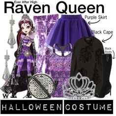 BY REQUEST from @queenvic93​ - Inspired by animated character Raven Queen from the web series Ever After High - Shopping info!