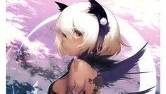 Dark Skin Anime Characters and Other Goodies Anime Girl Neko, Lolis Anime, Anime Sexy, Manga Girl, Anime Art Girl, Kawaii Anime, Anime Girls, Cosplay Anime, Anime Devil