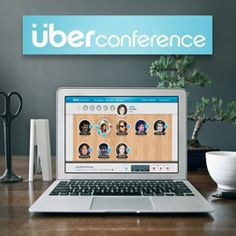 http://like.allmyfaves.com/like/site/name/uberconference.com  This is a cool, clear, colourful website with the benefits of the product communicated well! You get it straight away! and the page navigates the use to a free sign up! the moving images creates engagement too! :)