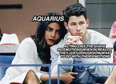 "Memes That'll Make Every Aquarius Say ""Yep, That's Me"" - Shenhuifu Astrology Aquarius, Aquarius Traits, Aquarius Love, Aquarius Quotes, Zodiac Sign Traits, Zodiac Signs Astrology, Zodiac Signs Horoscope, Zodiac Memes, Zodiac Star Signs"