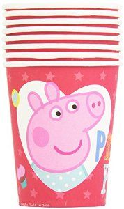 Amazon.com: Peppa Pig Red Party Cups: Toys & Games