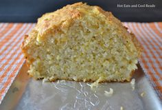 Hot Eats and Cool Reads: Quick Peppery Cheddar Cheese Bread Recipe