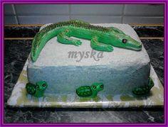 s krokodýlem a želvičkami